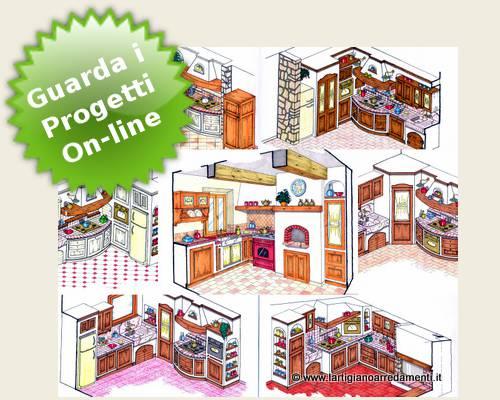 Emejing Progetti Di Cucine In Muratura Contemporary - Ideas & Design ...